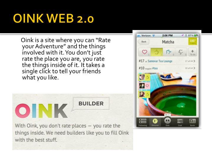 OINK WEB 2.0