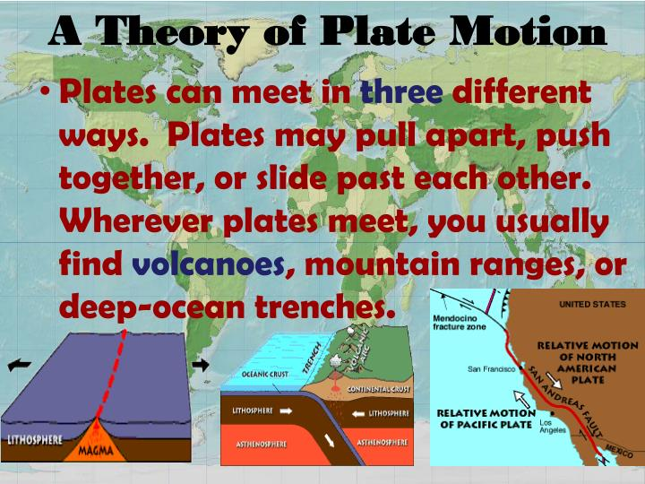 A Theory of Plate Motion