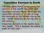 convection currents in earth