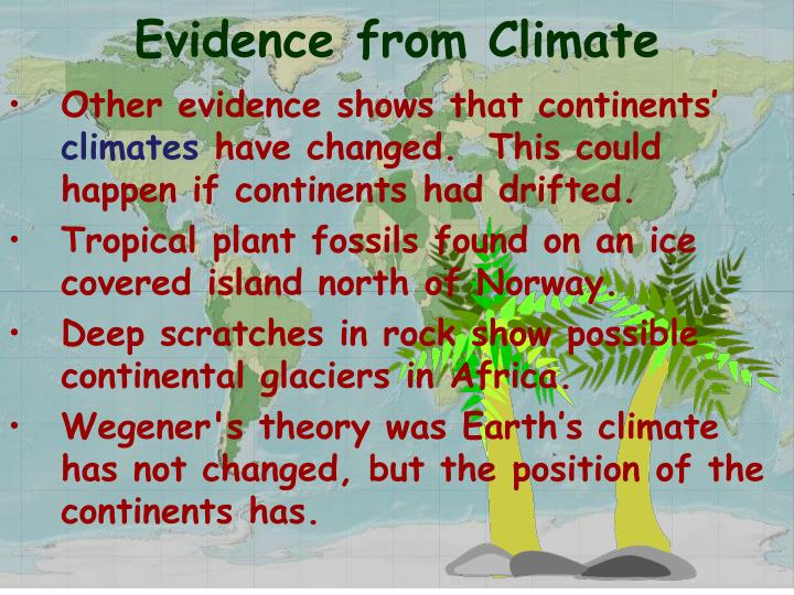 Evidence from Climate