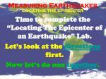 measuring earthquakes11