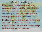 mid ocean ridges1