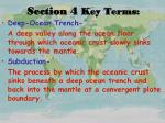section 4 key terms