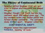 the theory of continental drift1