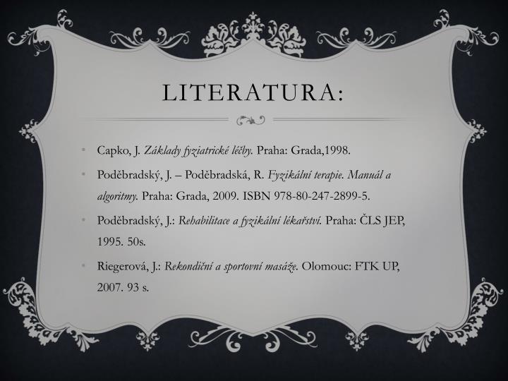 Literatura: