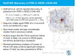nustar discovery of psr in hess j1640 465