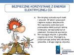 bezpieczne korzystanie z energii elektrycznej cd1