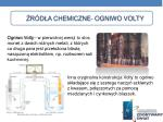 r d a chemiczne ogniwo volty