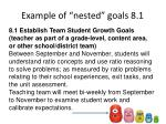 example of nested goals 8 1