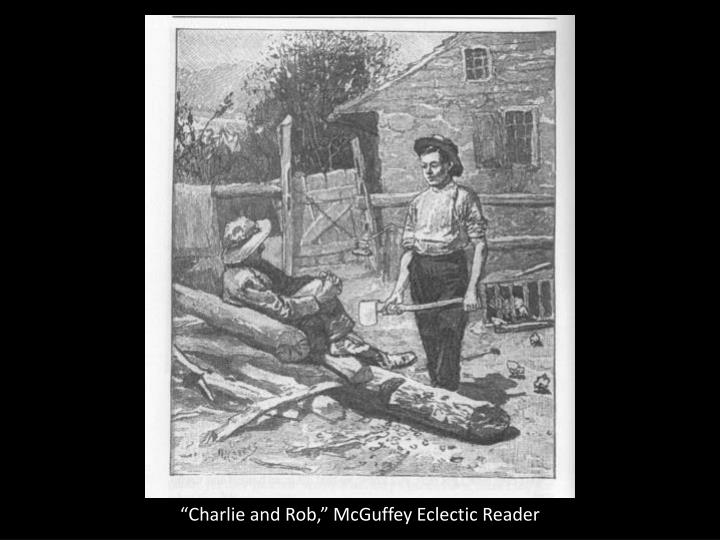 """""""Charlie and Rob,"""" McGuffey Eclectic Reader"""