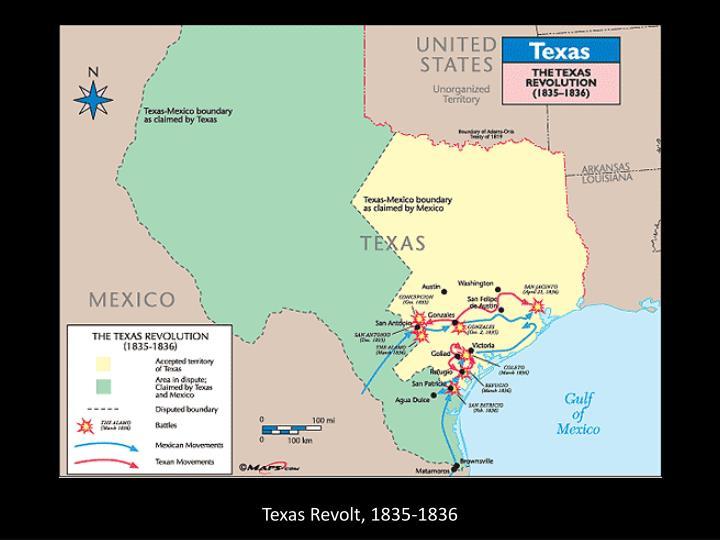 Texas Revolt, 1835-1836