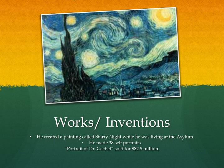 Works/ Inventions