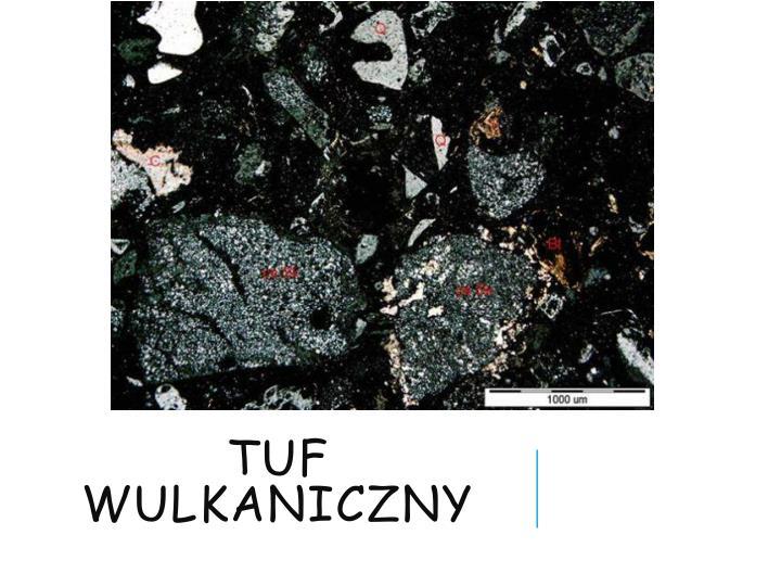 Tuf wulkaniczny