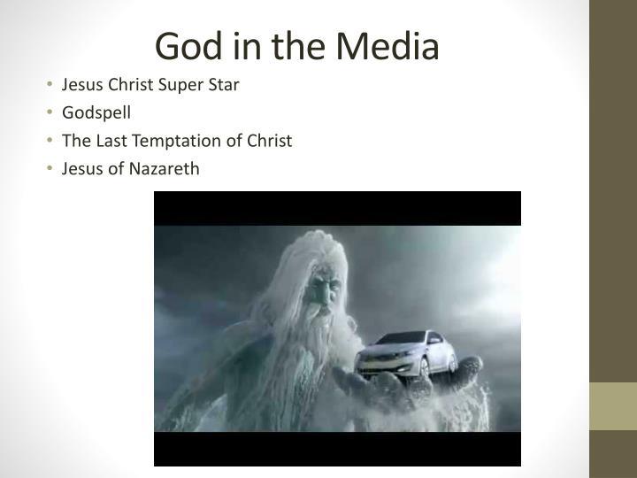 God in the Media