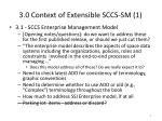 3 0 context of extensible sccs sm 1