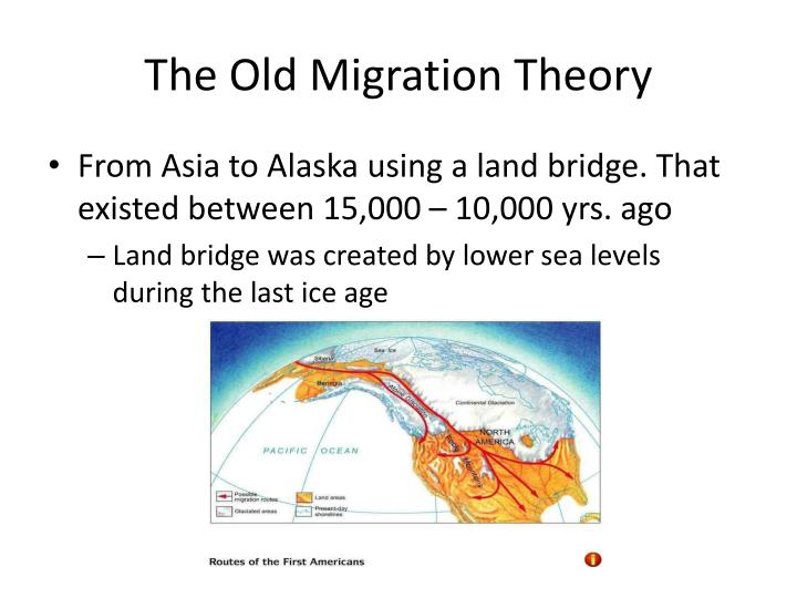 The Old Migration Theory
