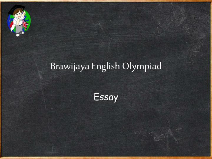 Brawijaya English Olympiad