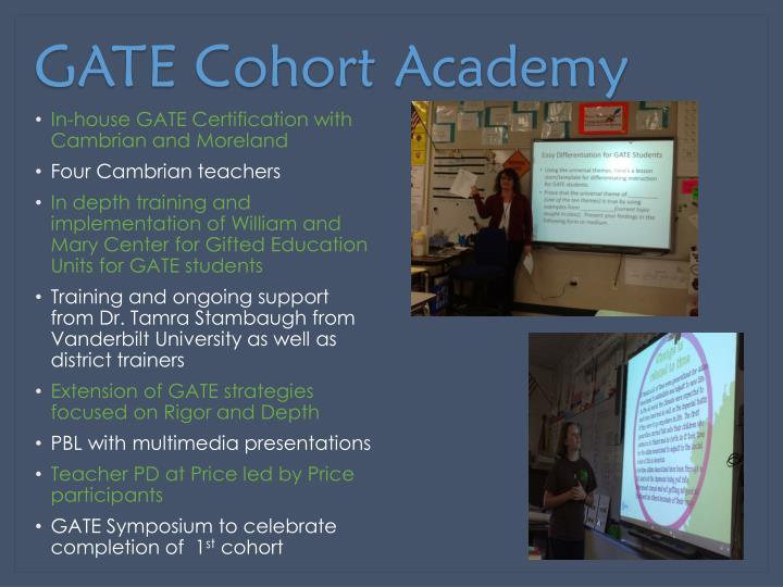 GATE Cohort Academy