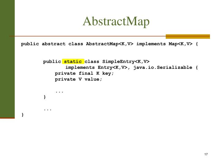 AbstractMap