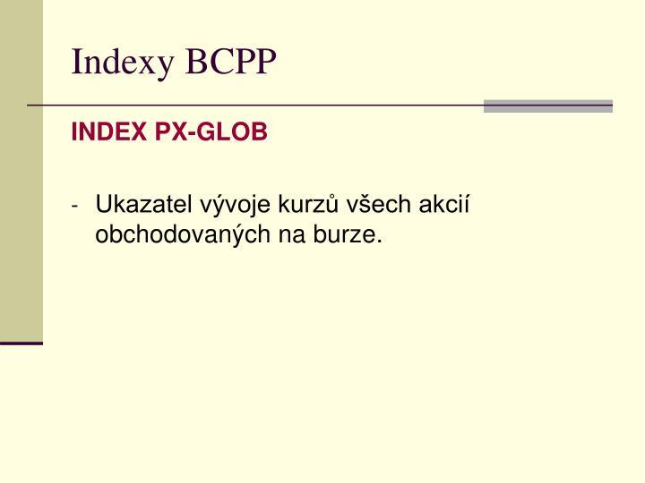 Indexy BCPP