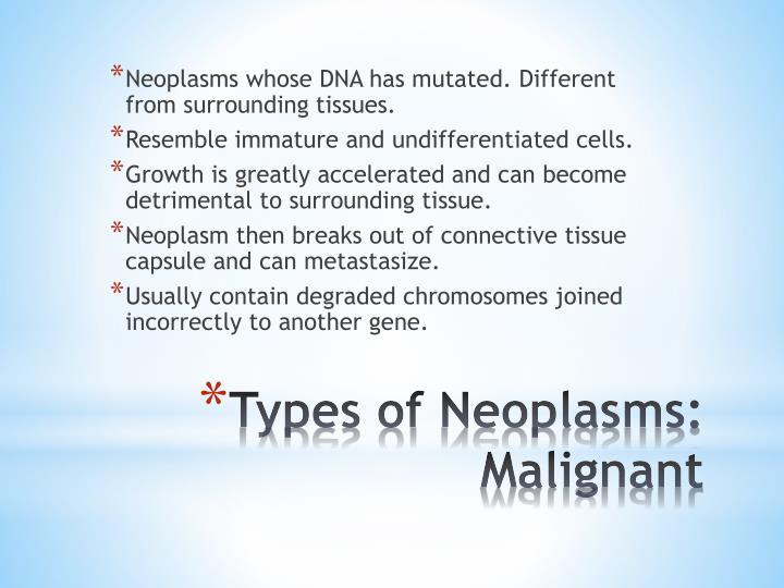 Neoplasms