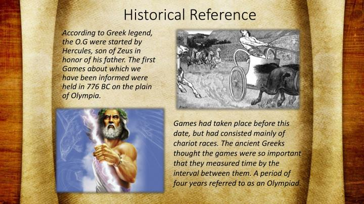 Historical Reference