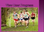 view user progress