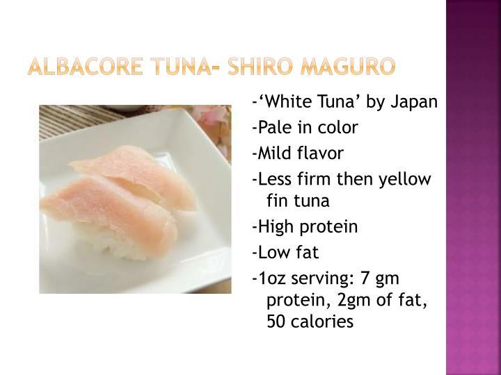 Albacore Tuna-