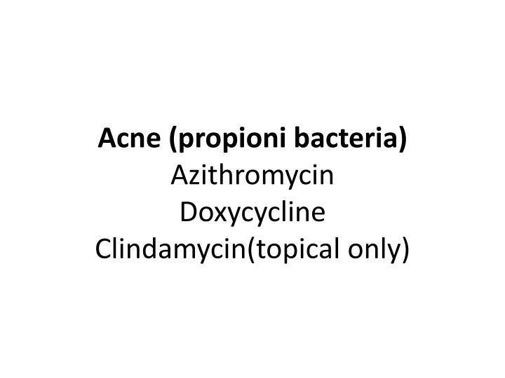 Acne (