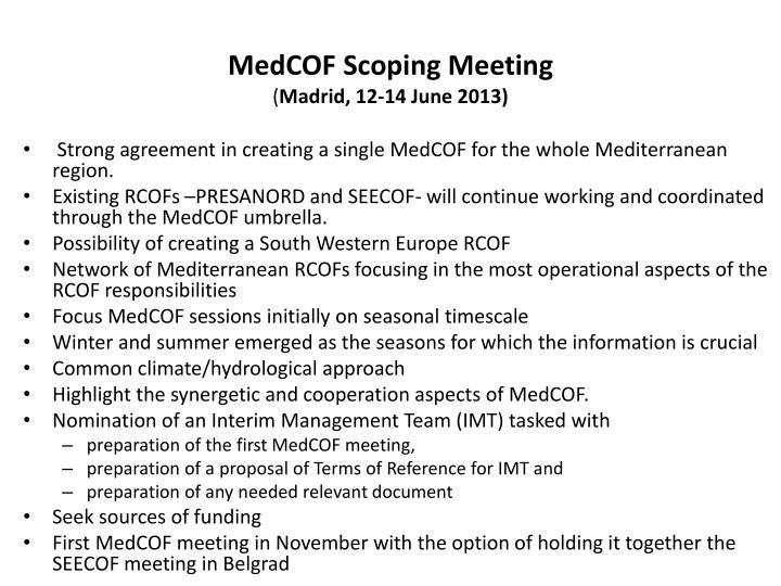 MedCOF