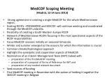 medcof scoping meeting madrid 12 14 june 2013