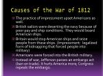 causes of the war of 18121