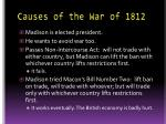 causes of the war of 18123