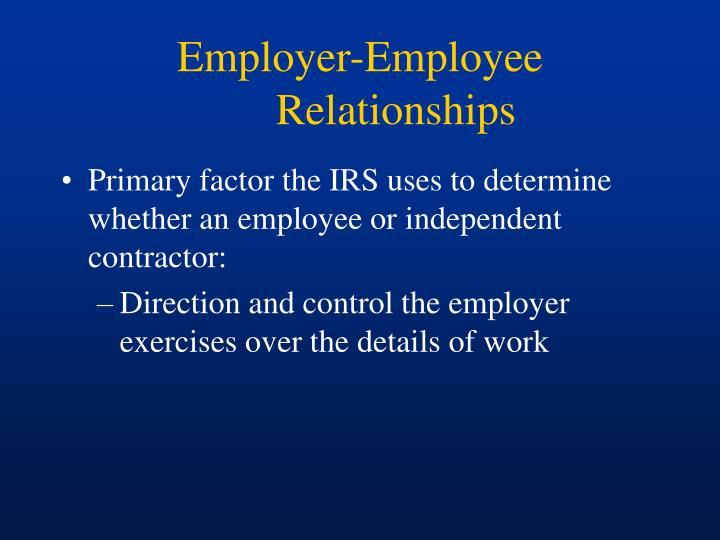 Employer-Employee