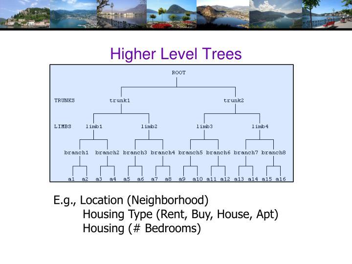 Higher Level Trees