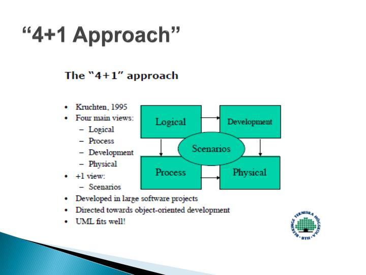 """4+1 Approach"""