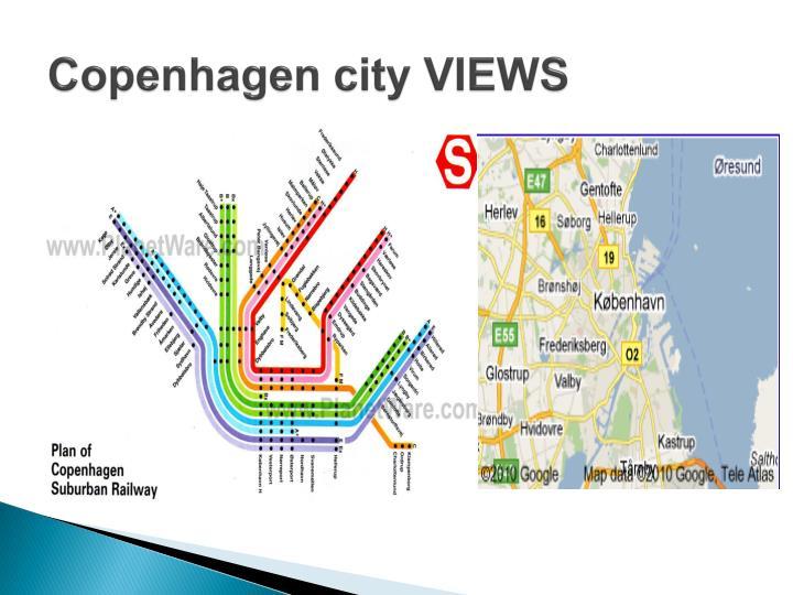 Copenhagen city VIEWS