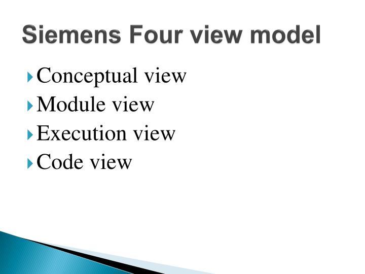 Siemens Four view model