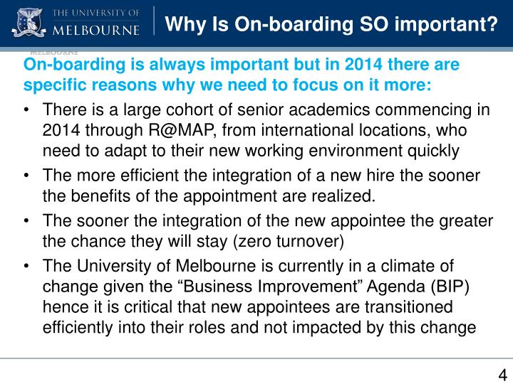 Why Is On-boarding SO important?