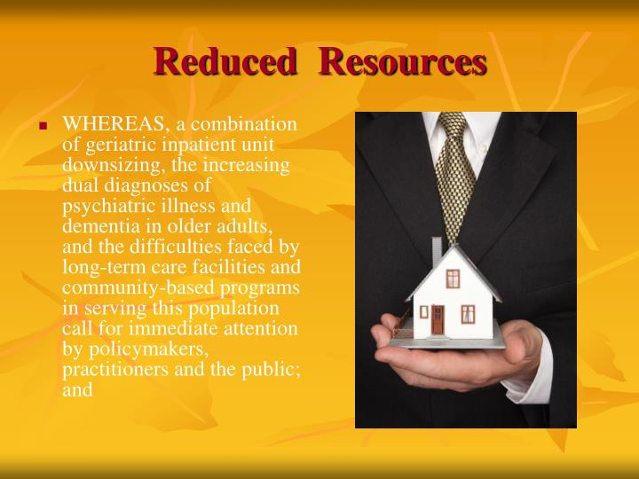 Reduced  Resources