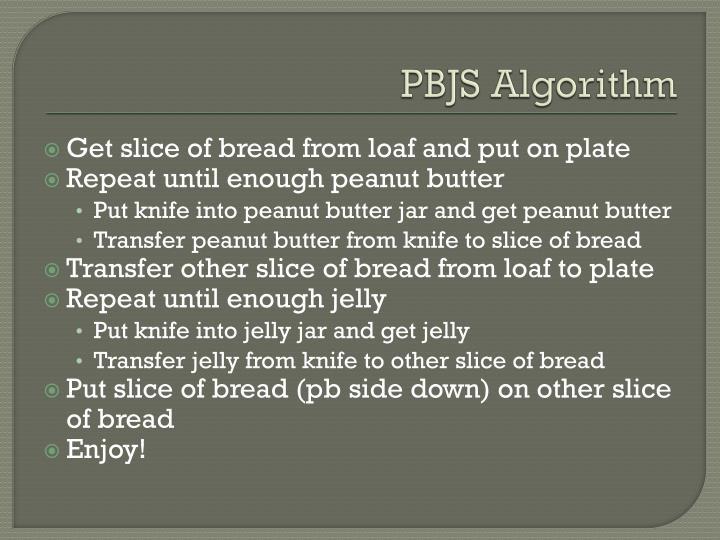 PBJS Algorithm