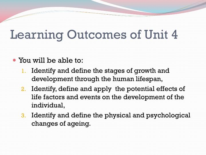 unit 4 development through the life P1-describe physical, intellectual, emotional and social development for each of the life stages of your chosen celebrity there are several areas of.