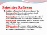 primitive reflexes