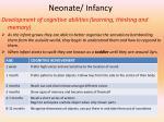 neonate infancy1