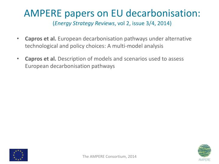 AMPERE papers on EU