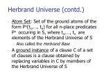 herbrand universe contd1