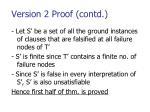 version 2 proof contd