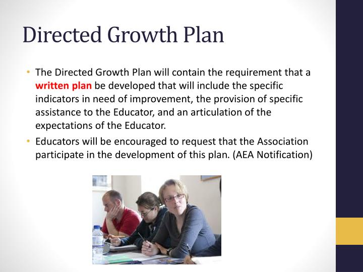 Directed Growth Plan