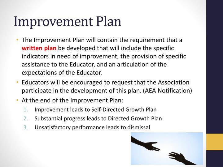 Improvement Plan