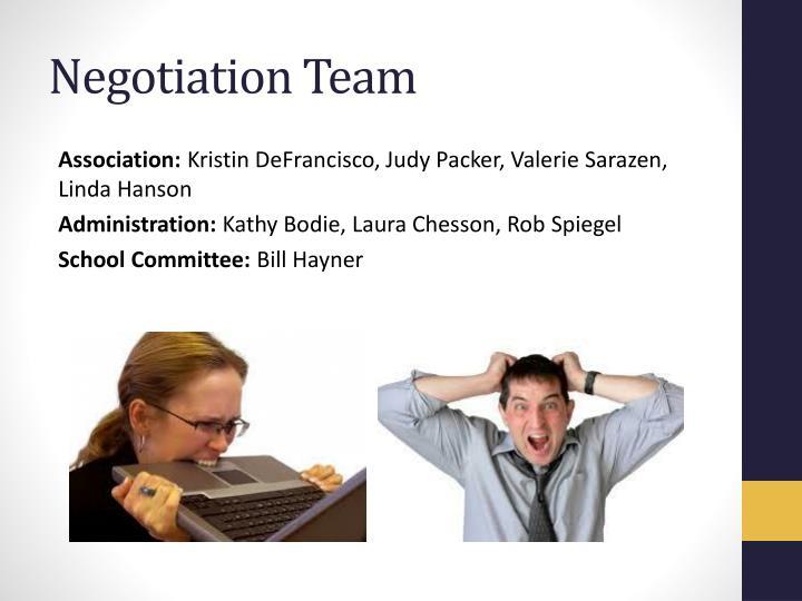 Negotiation Team